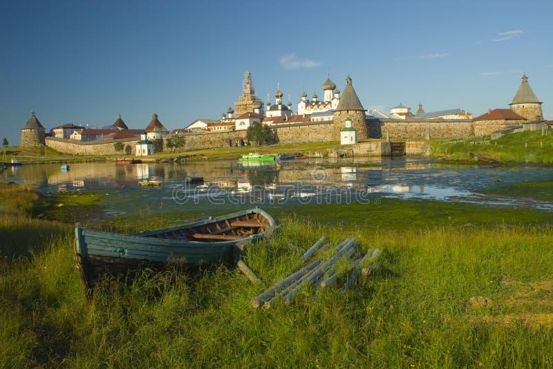 Vecchio fortress sull'isola immagine stock libera da diritti