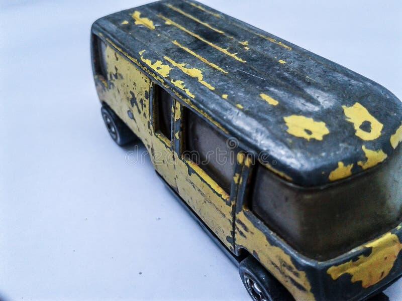 Vecchio furgone del giocattolo immagine stock libera da diritti