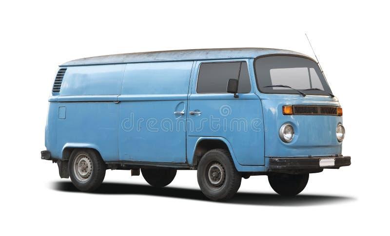 Vecchio furgone di VW immagini stock