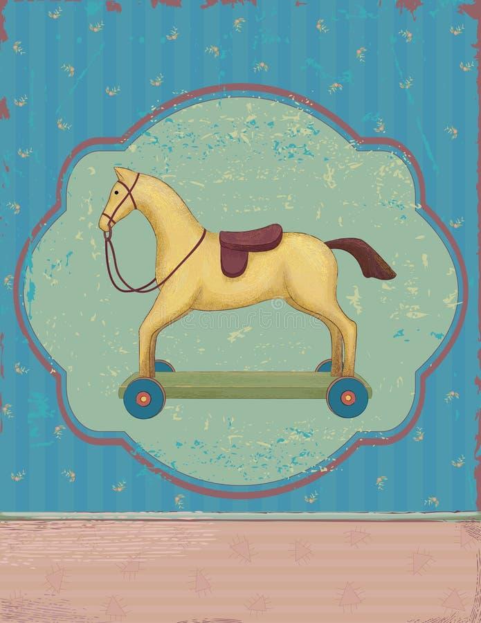 Vecchio giocattolo royalty illustrazione gratis