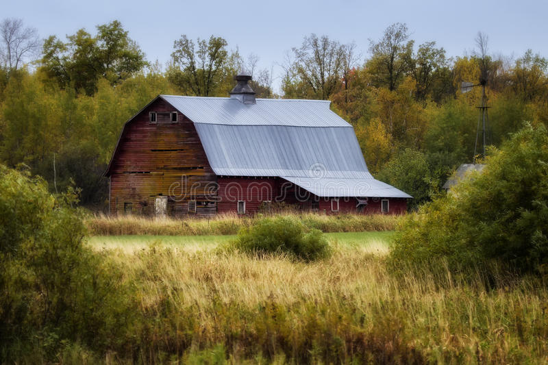 Vecchio granaio - 1 fotografie stock libere da diritti