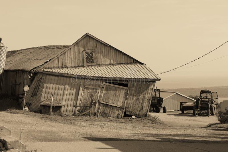 Vecchio granaio fotografia stock