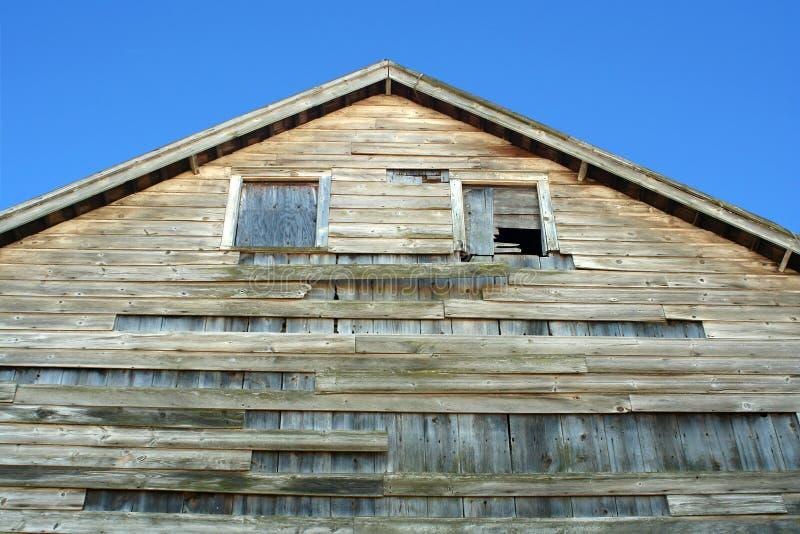 Vecchio granaio di legno immagini stock