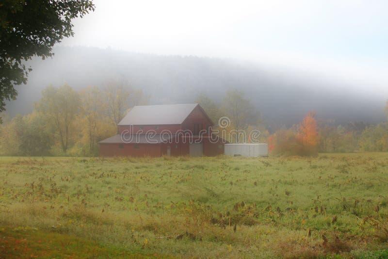 Vecchio granaio nel Vermont immagini stock libere da diritti