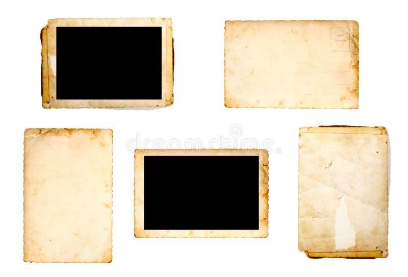Vecchio gruppo della foto immagine stock libera da diritti