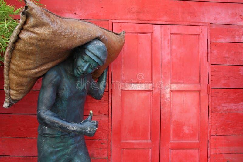 Vecchio hub Ho Hin della riseria fotografia stock libera da diritti