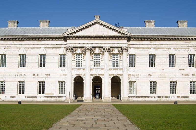 Vecchio istituto universitario navale reale, Greenwich fotografie stock