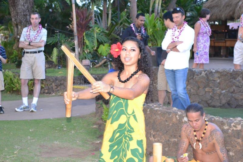 Vecchio Lahaina Luau immagine stock