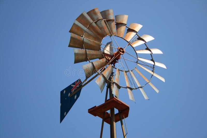 Vecchio laminatoio di vento fotografie stock
