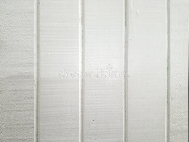 Vecchio legno bianco dipinto TG fotografie stock