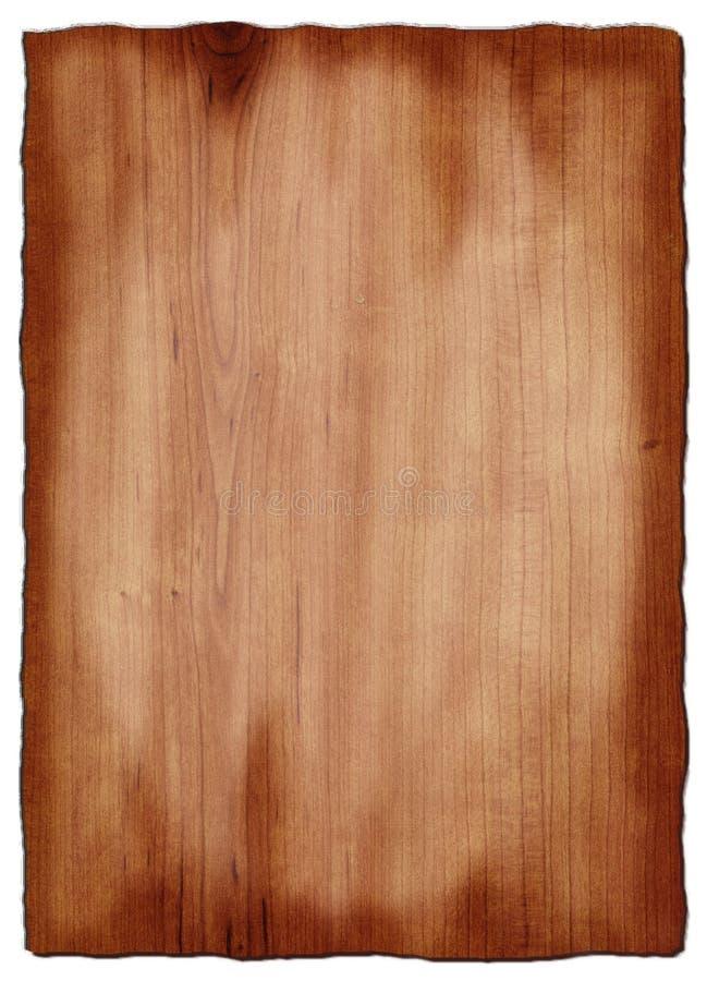 Vecchio legno della ciliegia fotografie stock libere da diritti