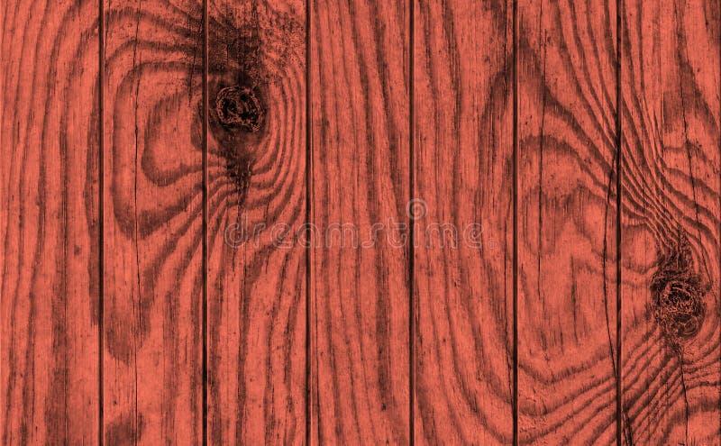 Vecchio legno di pino rosso marrone rossiccio annodato incrinato stagionato che pavimenta struttura rustica di lerciume fotografie stock libere da diritti