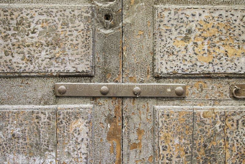 Vecchio legno scheggiato fotografia stock libera da diritti