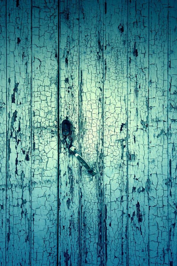 Vecchio legno scheggiato fotografia stock