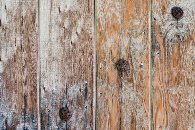 Vecchio lerciume boscoso e fondo del metallo fotografie stock libere da diritti
