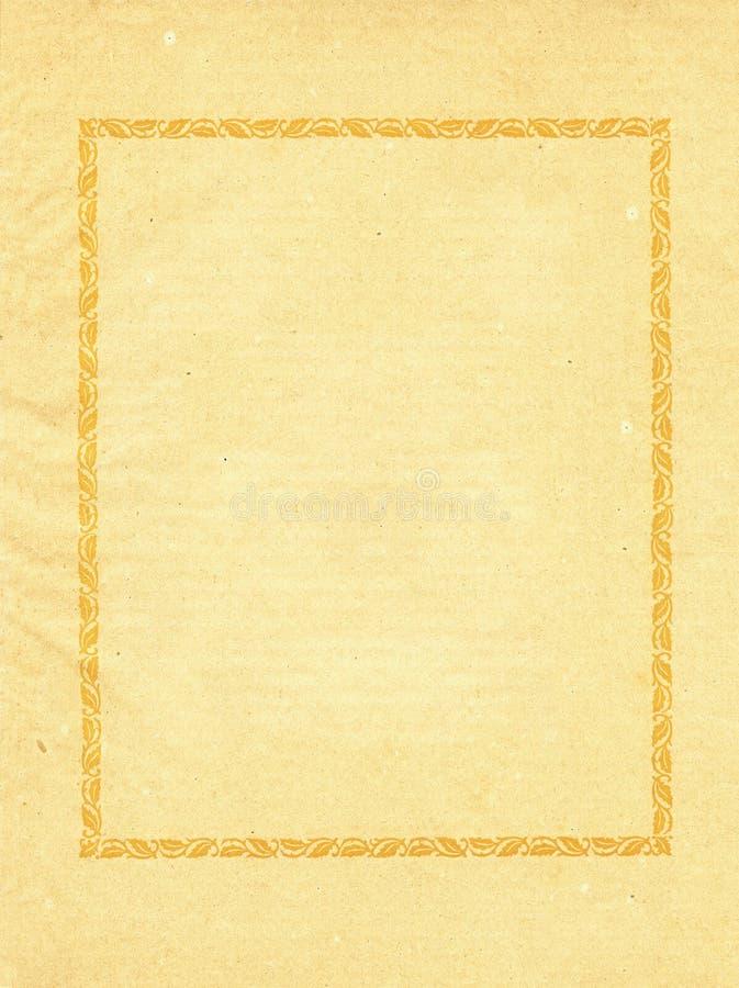 Vecchio lerciume, carta macchiata fotografia stock libera da diritti