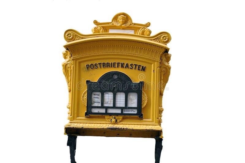 Vecchio letterbox immagine stock