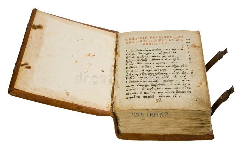 Vecchio Libro Fotografie Stock Libere da Diritti