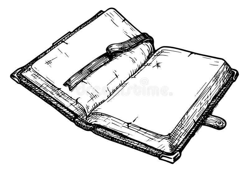 Vecchio libro royalty illustrazione gratis