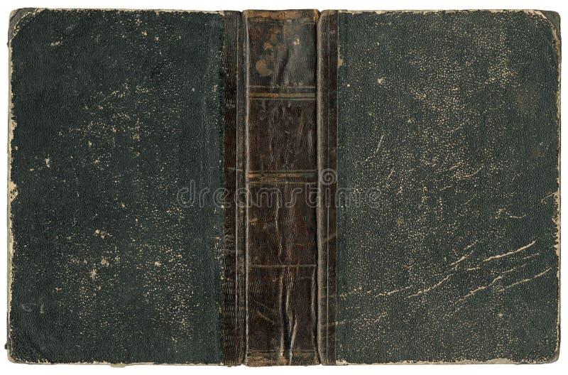 Vecchio libro aperto 1875 immagini stock