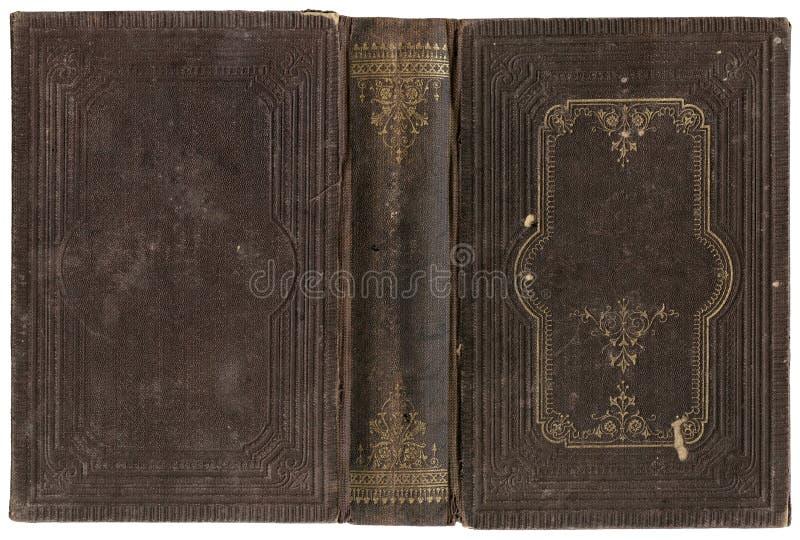 Vecchio libro aperto immagini stock