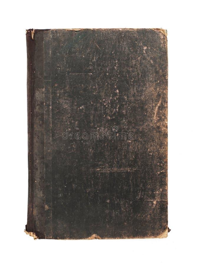 Vecchio libro consumato fotografia stock