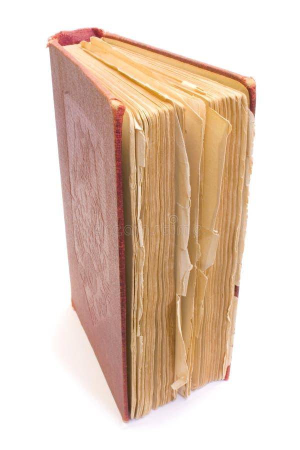 Vecchio Libro Grungy Fotografie Stock Libere da Diritti