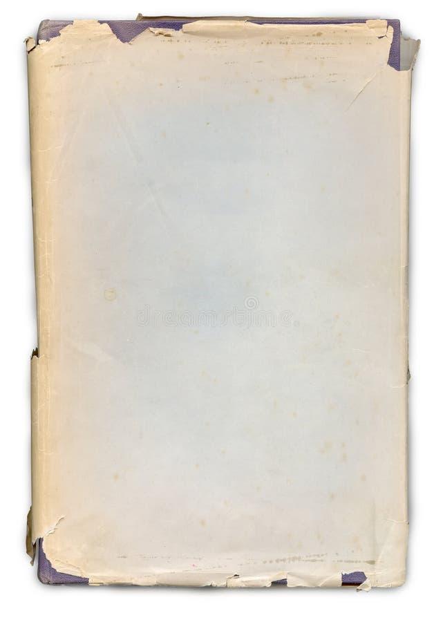 Vecchio libro stracciato fotografia stock