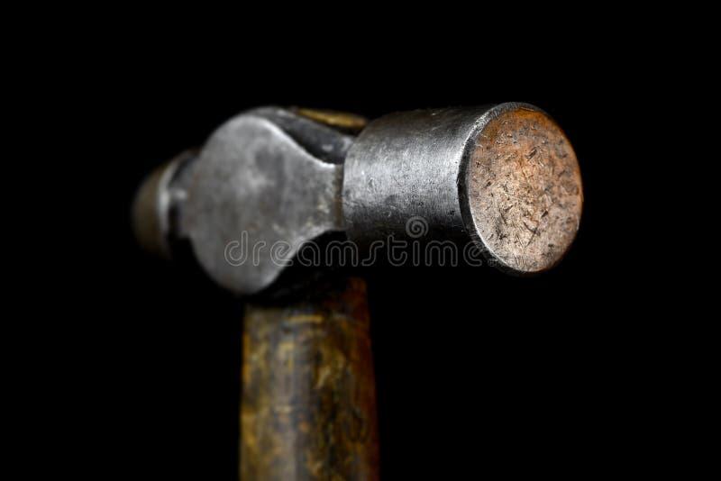 Vecchio martello immagine stock