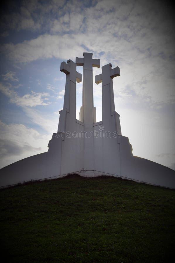 Vecchio memoriale in Russia immagine stock libera da diritti
