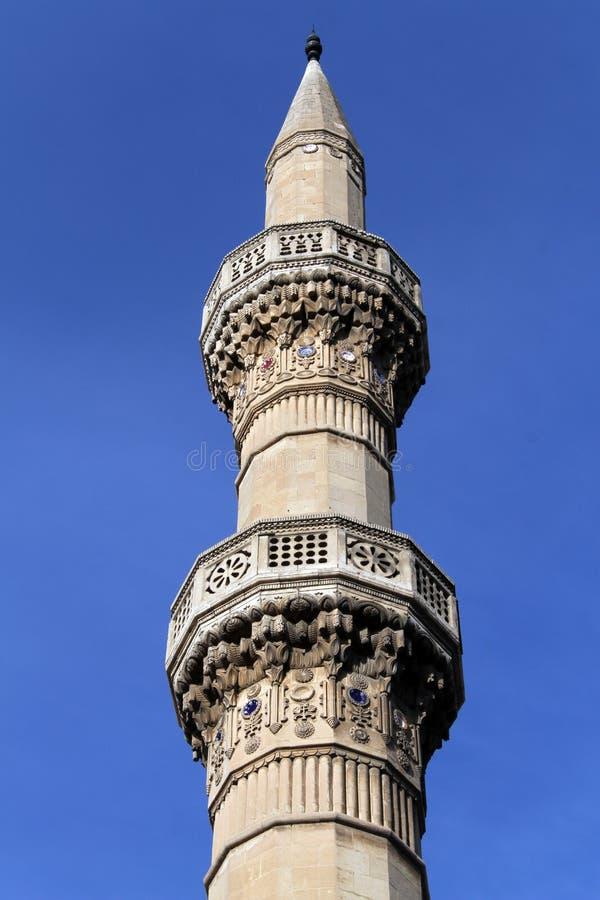 Vecchio minareto fotografie stock