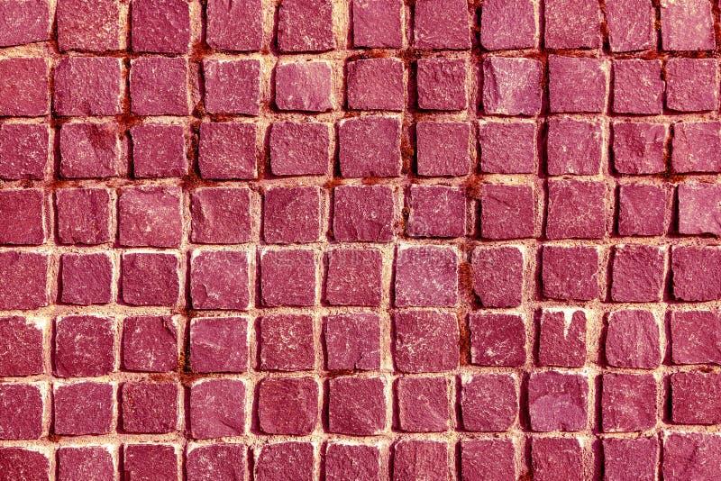 Vecchio modello del pavimento di rossi carmini dell'ardesia della parete di struttura del fondo delle mattonelle nere della paret fotografia stock libera da diritti