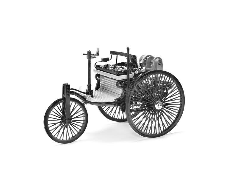 Vecchio modello dell'automobile immagini stock