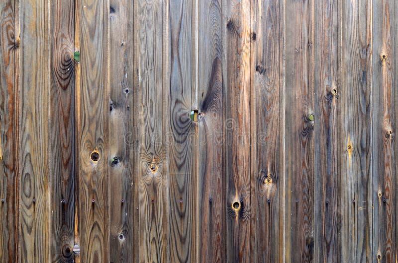 Vecchio modello di legno del pannello di marrone scuro di lerciume con bella struttura astratta della superficie del grano, fondo immagini stock