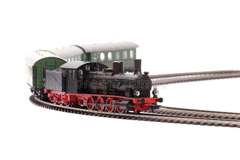 Vecchio modello di loco del vapore fotografie stock