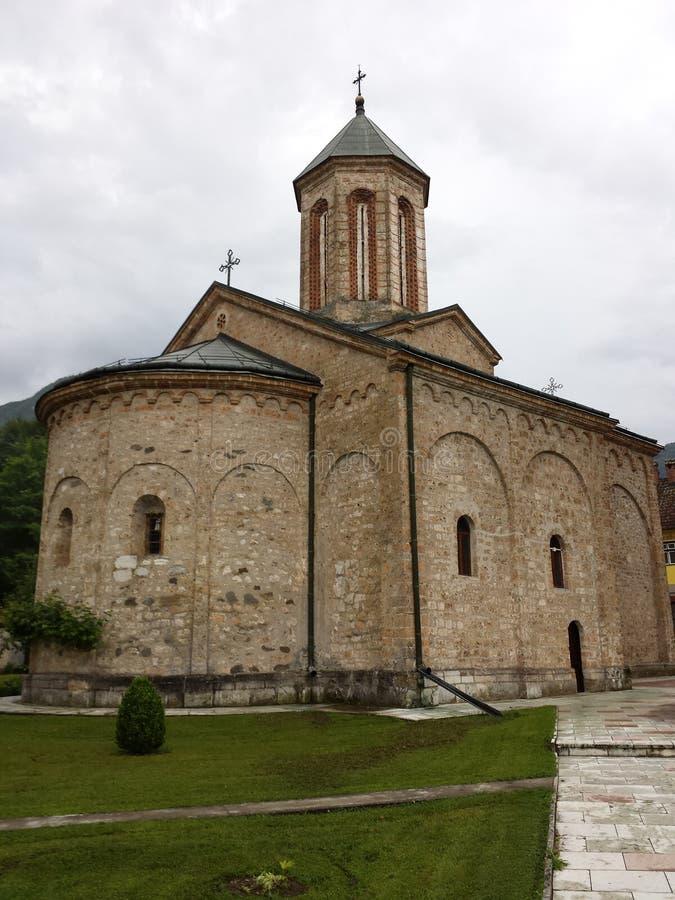 Vecchio monastero immagine stock