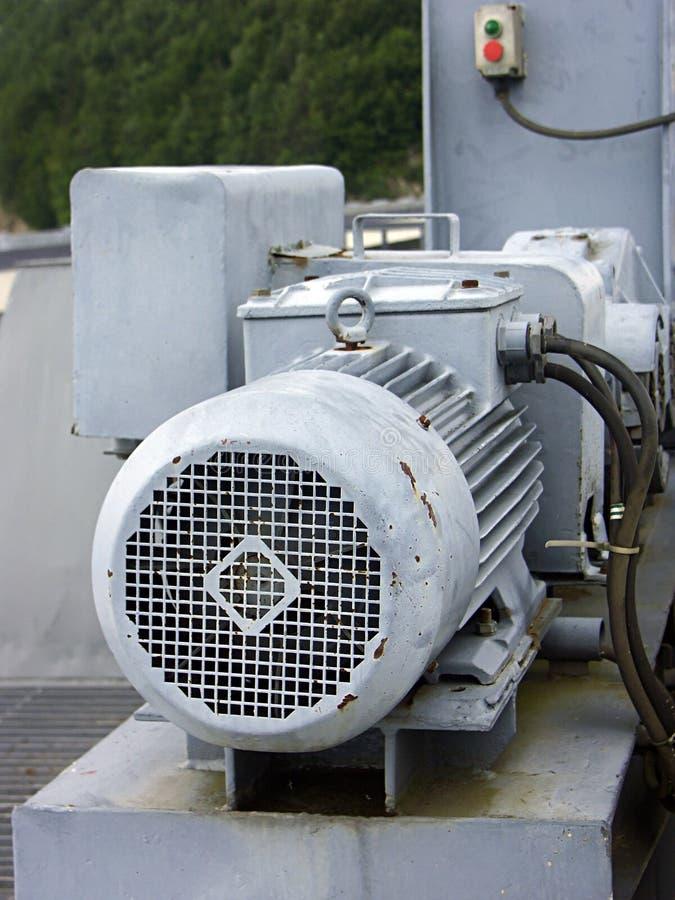 Vecchio motore immagine stock