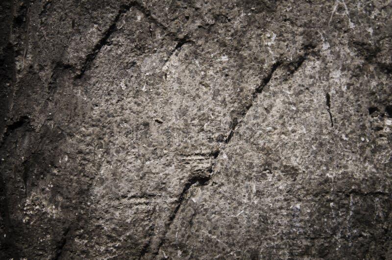 Vecchio muro di cemento. fotografie stock libere da diritti