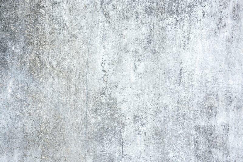 Vecchio muro di cemento bianco di lerciume fotografia stock