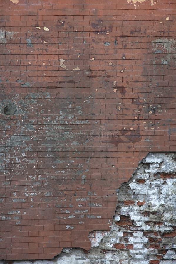 Vecchio muro di mattoni fotografie stock libere da diritti