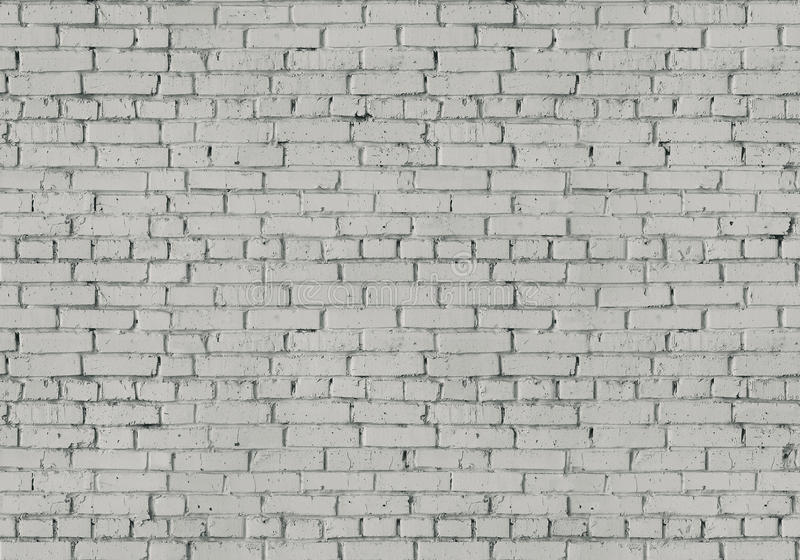 Vecchio muro di mattoni di lerciume, struttura senza cuciture illustrazione di stock