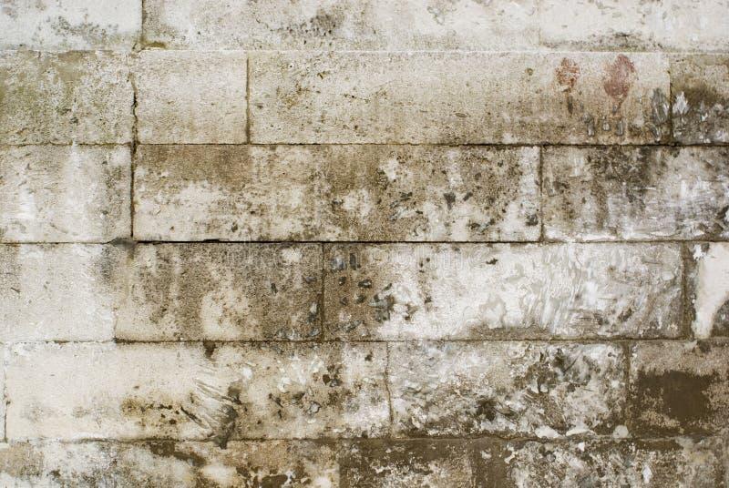 Vecchio muro di mattoni di pietra fotografia stock libera da diritti
