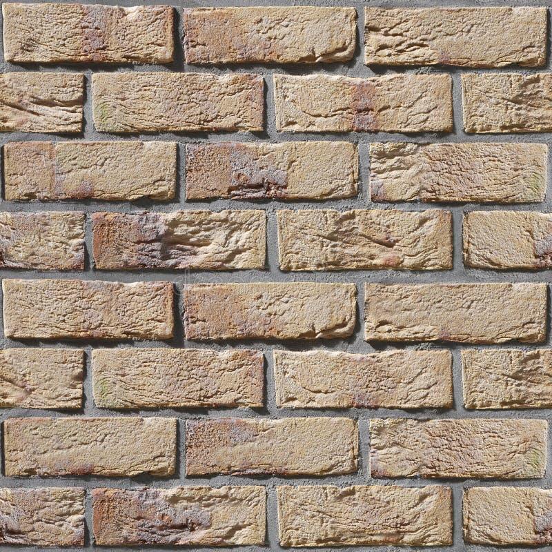 Vecchio muro di mattoni - fondo senza cuciture - aspetto rustico fotografia stock libera da diritti