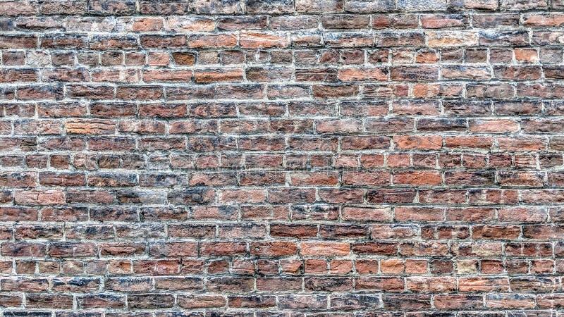 Vecchio muro di mattoni indossato entro tempo royalty illustrazione gratis