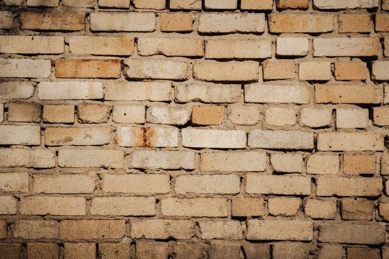 Vecchio muro di mattoni Parete astratta del fondo del fondo di lerciume fotografia stock libera da diritti