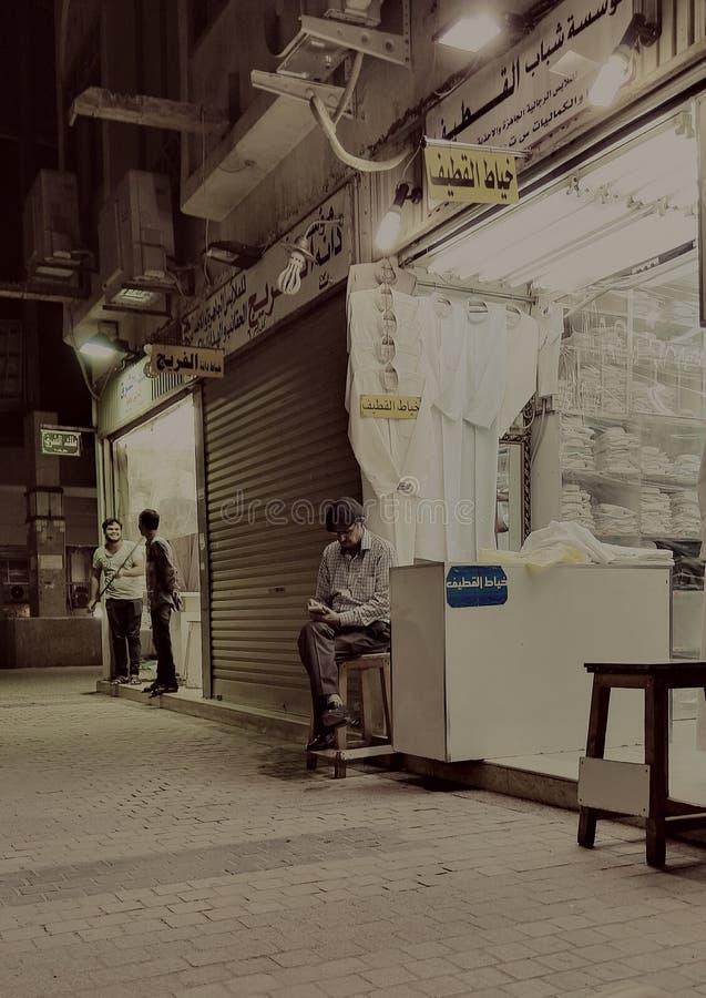 Vecchio negozio del Kuwait immagini stock