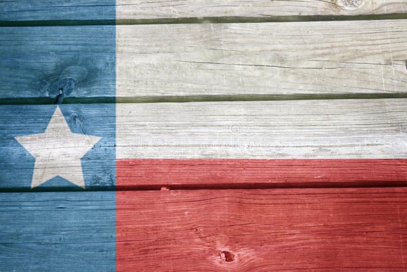 Vecchio orgoglio del Texas fotografie stock libere da diritti