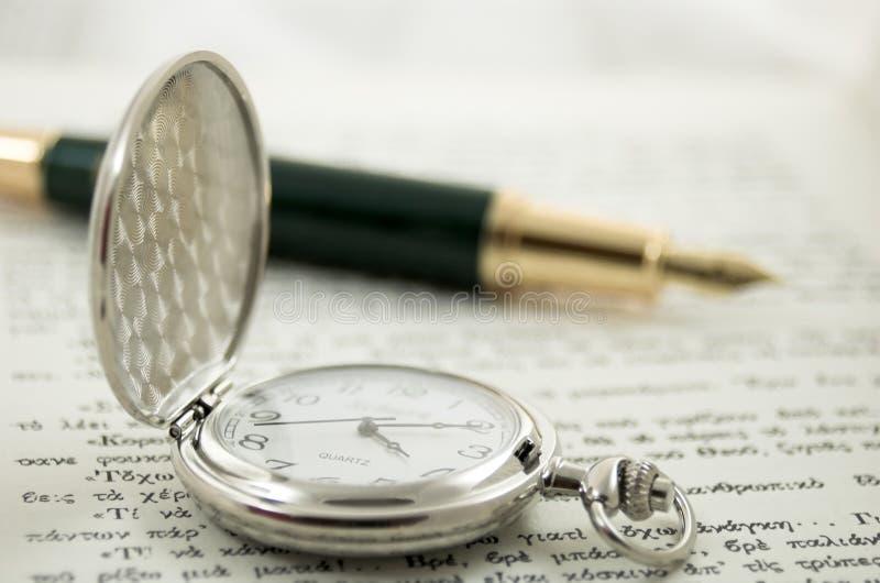 Vecchio orologio 3 fotografie stock libere da diritti