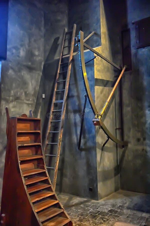 Vecchio osservatorio immagine stock libera da diritti