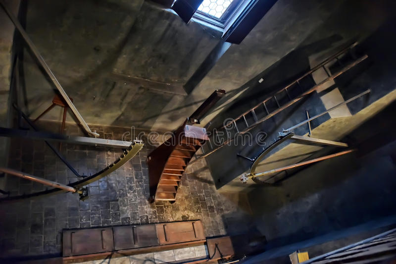 Vecchio osservatorio fotografia stock libera da diritti